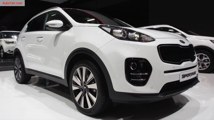 2017 KIA Sportage 2WD Trend Swiss City Pack 1.7 CRDi AT