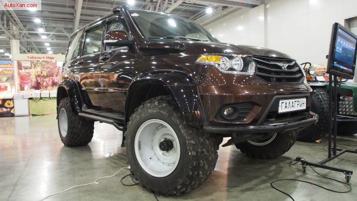 УАЗ Патриот Галагрин М-ТРИМ 4x4 на шинах низкого давления
