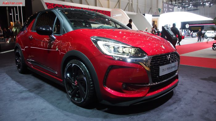 2017 DS3 Performance 1.6 THP 208 S&S BVM6