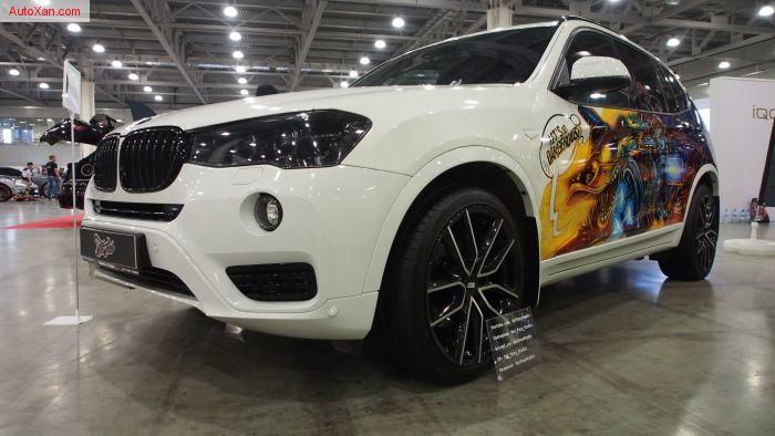 BMW X3 Tuning by Fat Tony Studio