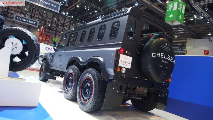 Chelsea Truck Company Flying Huntsman 6x6 Civilian Carrier